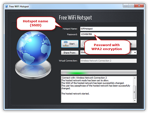 Protect Wi-Fi Hotspot with Password