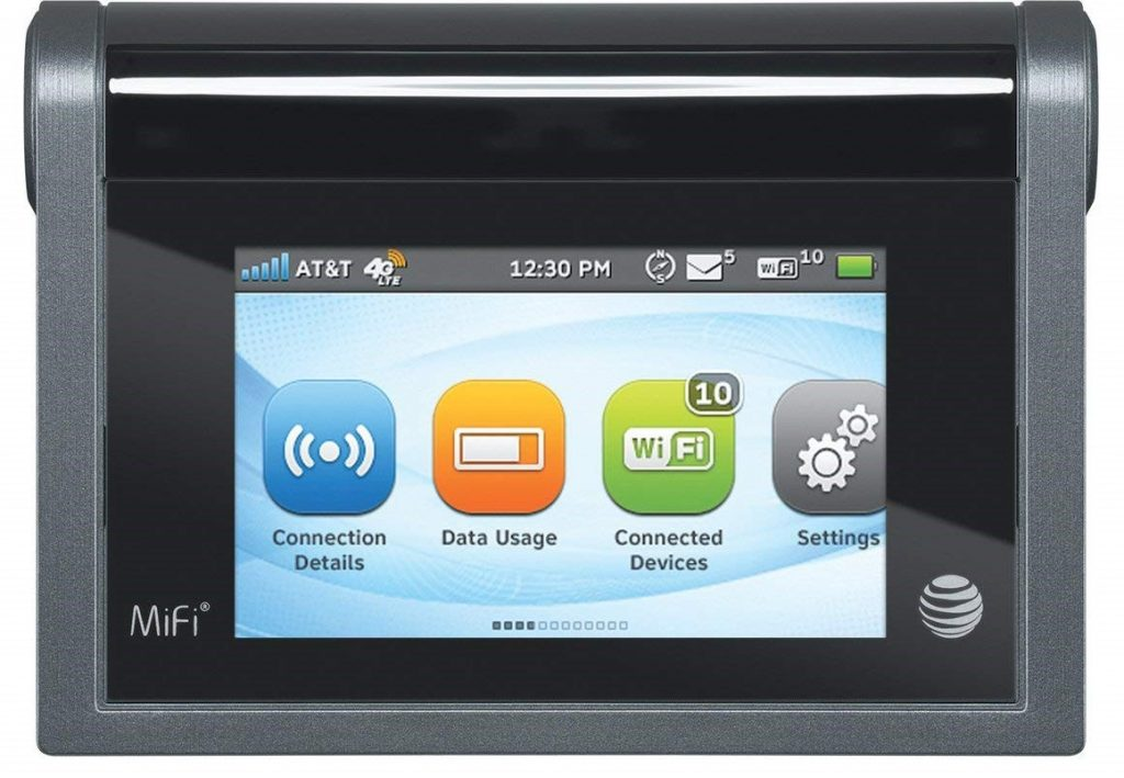 AT&T MiFi Liberate 4G LTE Mobile Hotspot
