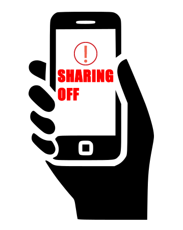 Turn Off Sharing