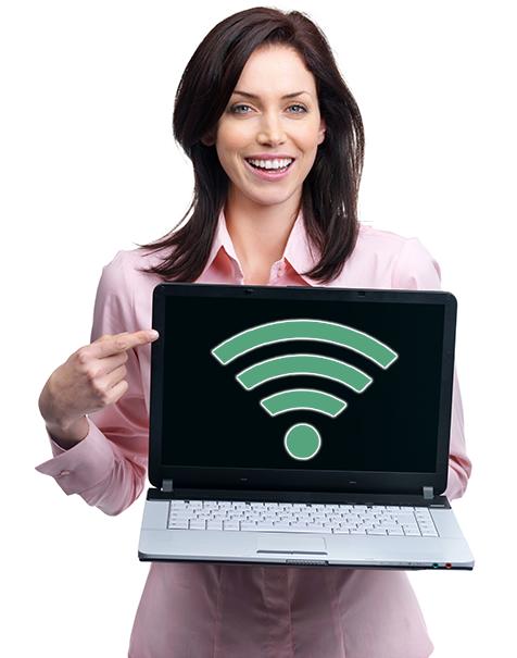 WiFi on Laptop