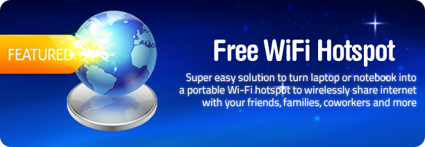 how to turn your laptop into a wifi hotspot free